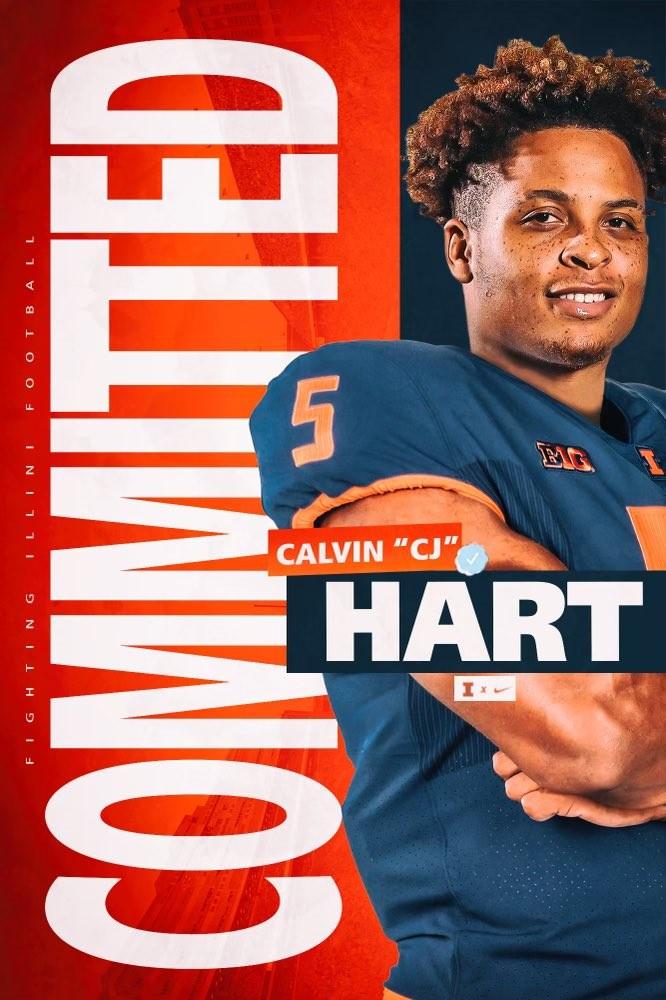 Football Recruiting - Spotlight on CJ Hart