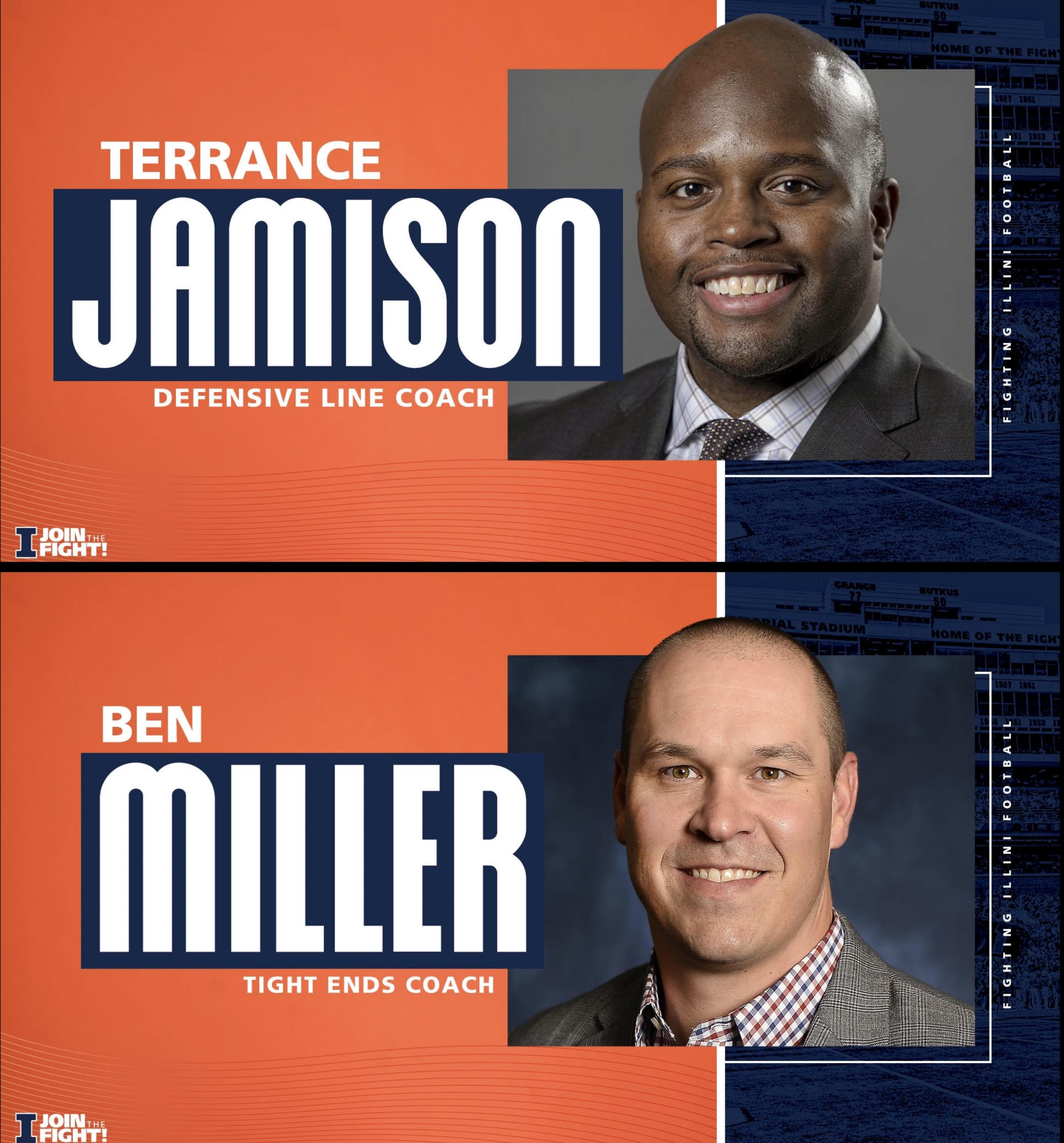 Football Coaching Staff Hires - Defensive Line & Tight Ends