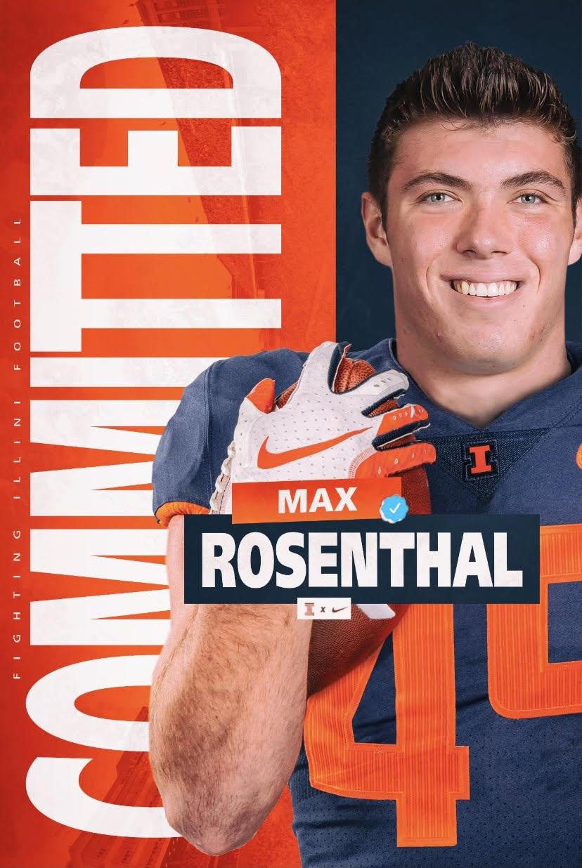 Football Recruiting - Spotlight on Max Rosenthal