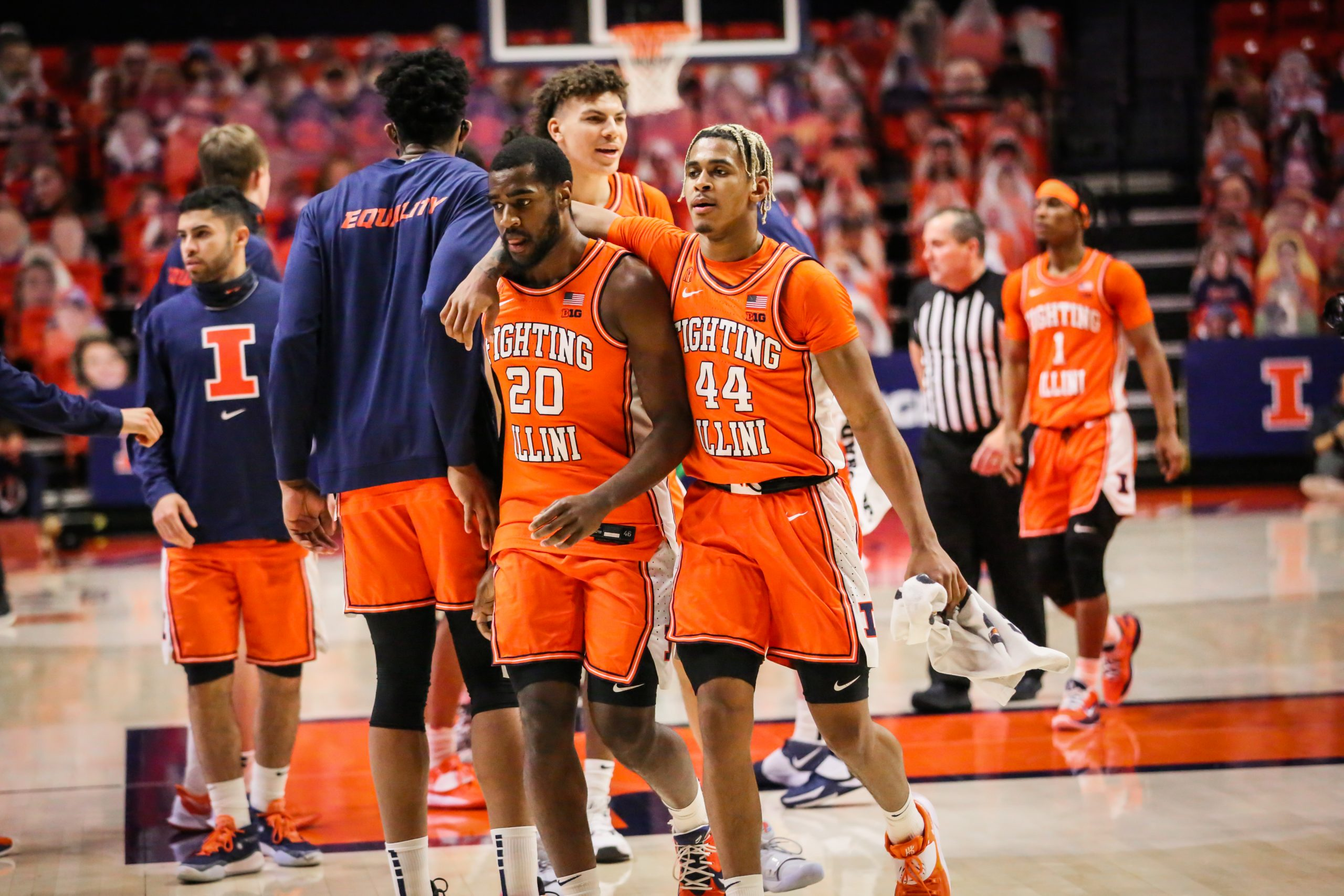 5th ranked Illini hold off Wildcats rally to win 6th straight, 73-66