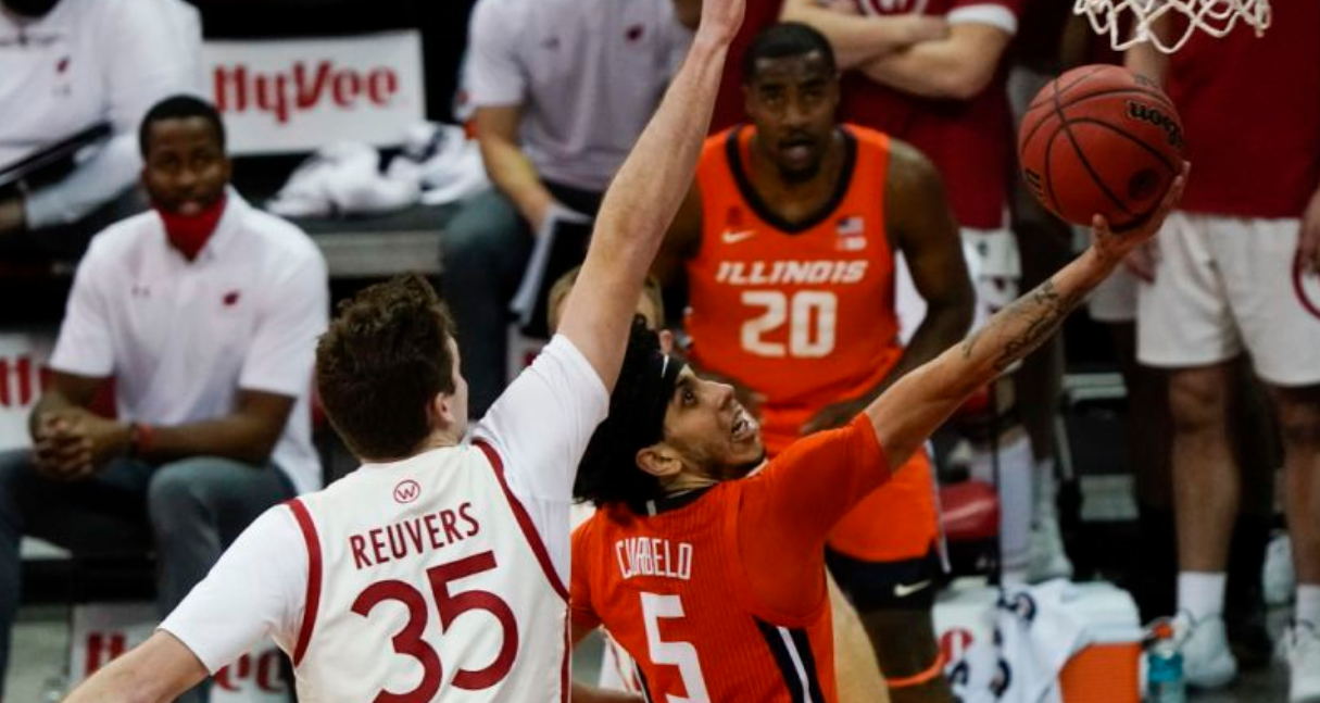 #5 Illini outlast 23rd ranked Badgers, clinch top 3 finish in Big Ten