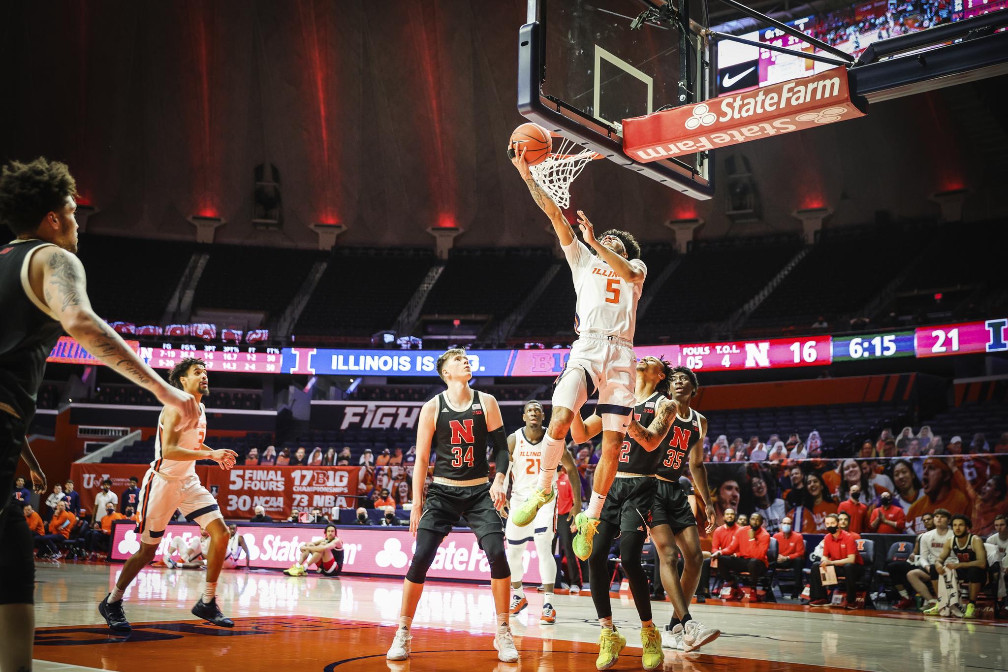 Illini-Cornhuskers Post Game Heat Checks