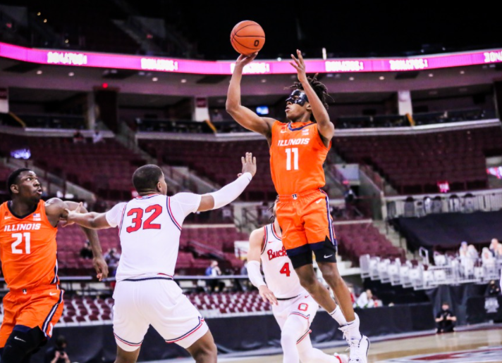 Ayo, Illini close out Buckeyes to get historic unprecedented win, 73-68