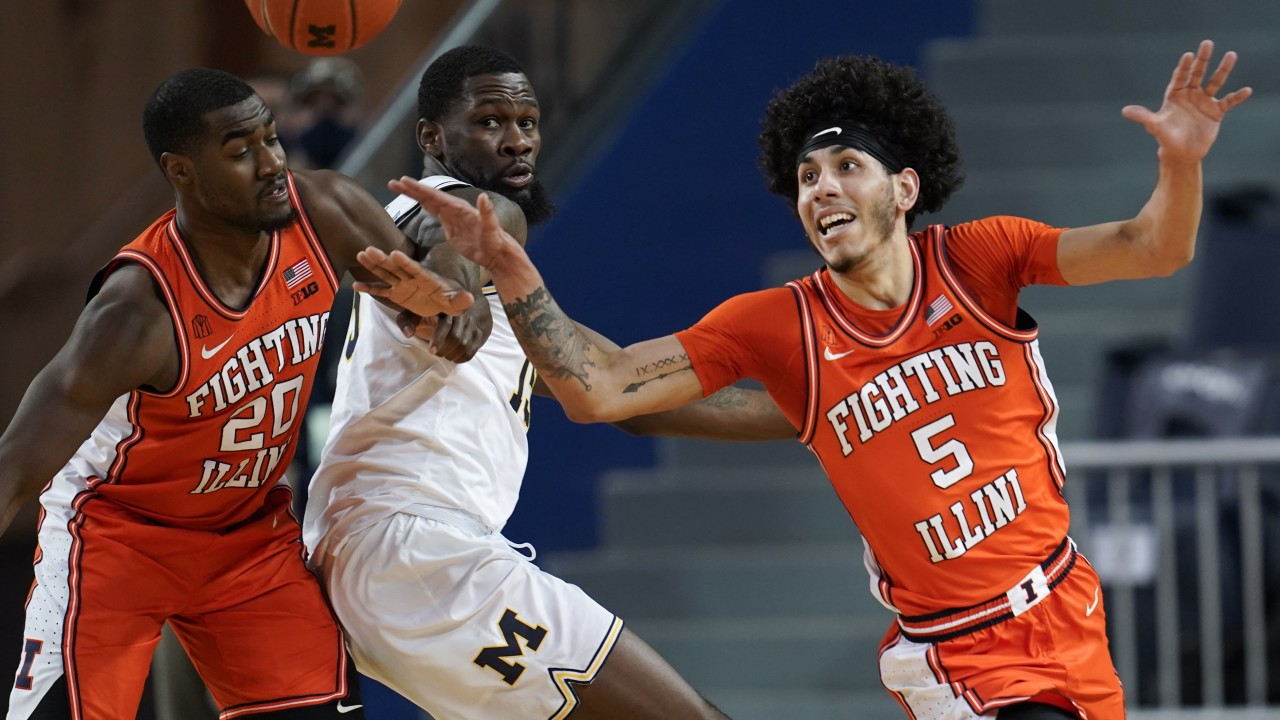 'Delusional' Illini slap down bewildered 2nd ranked Wolverines, 76-53.