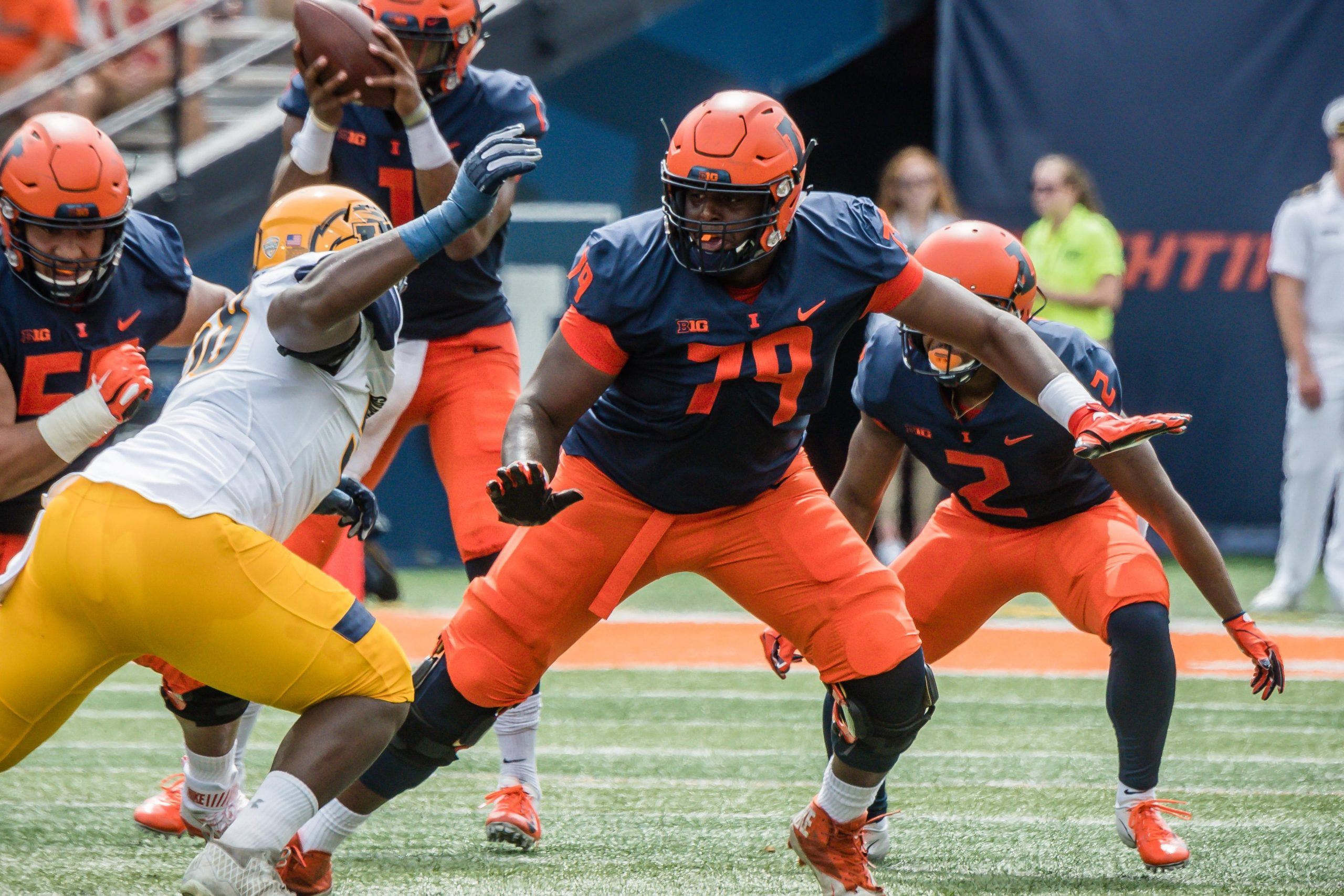 IlliniGuys Football Camp Position Preview: Offensive Line