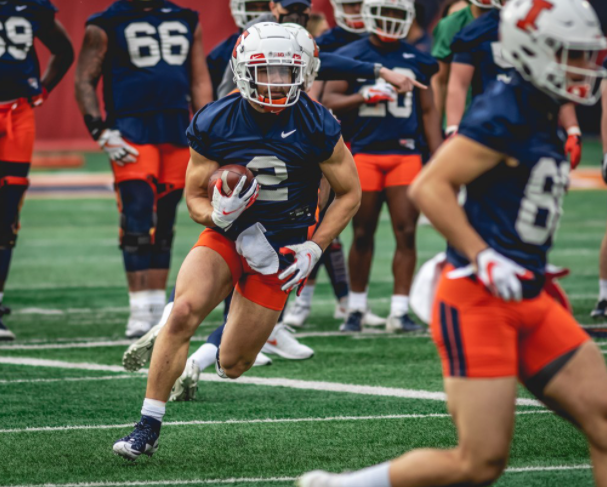 Day 1 notes -- Bielema opens Illini spring football practice