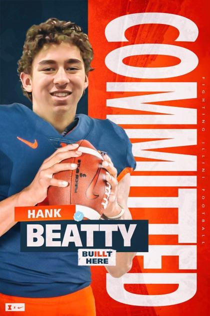 IlliniGuys.com catches up with the Illini's latest football commitment Hank Beatty