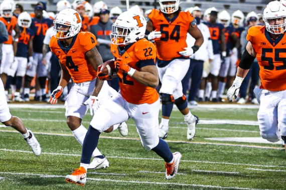 Reunited with his old coach, Chase Hayden is acclimating well at Illinois