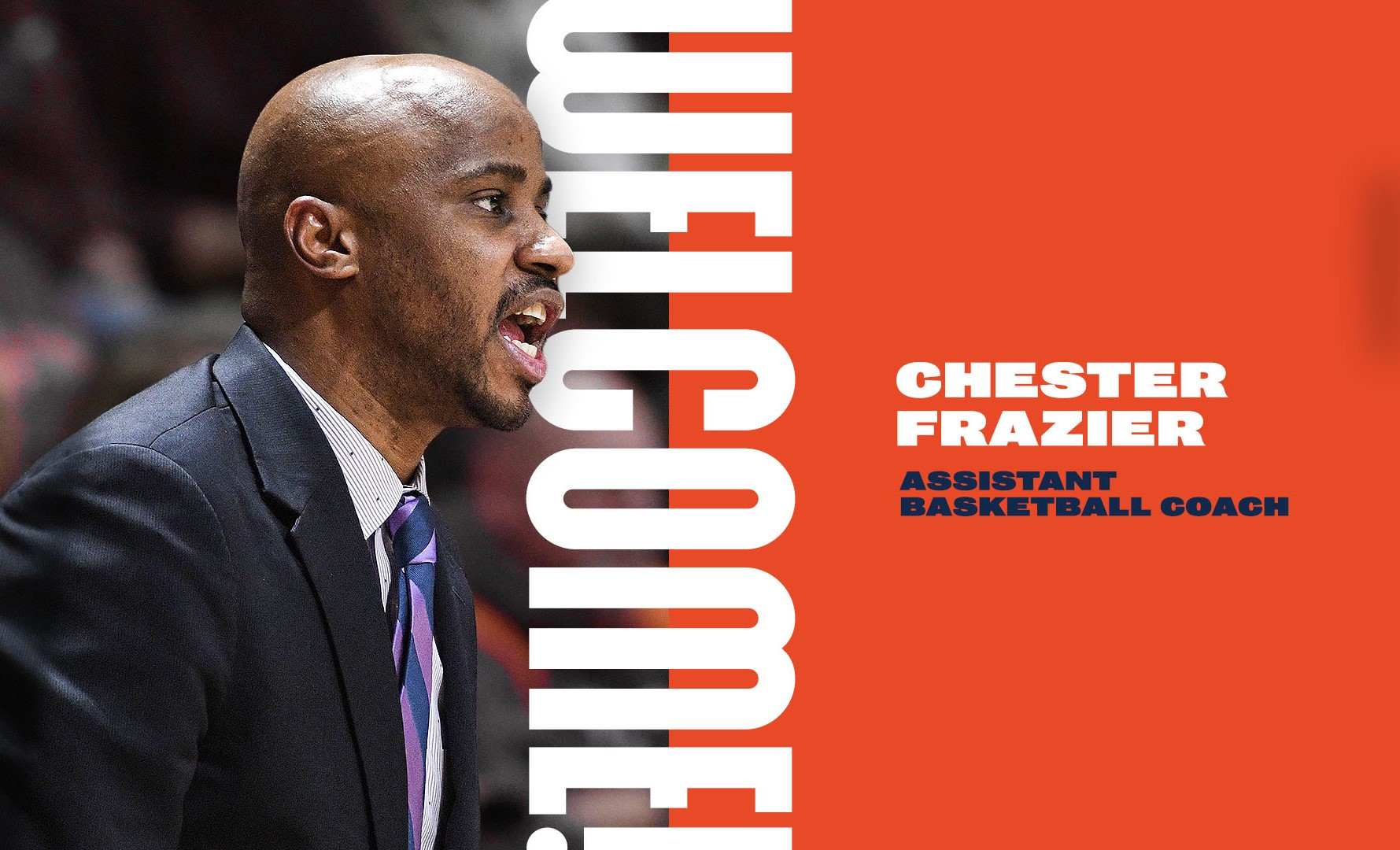 New assistant coach Chester Frazier's recruiting connections