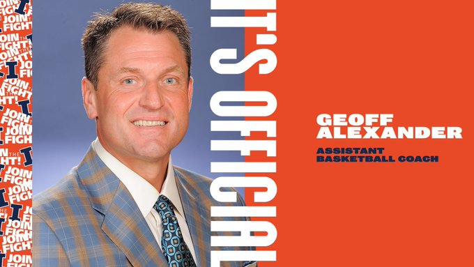 Get to know new Illini assistant coach Geoff Alexander