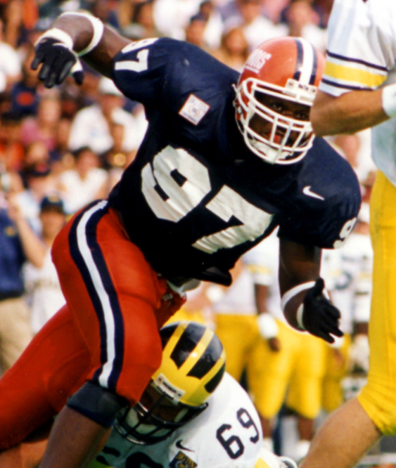 Three Illini legends added to College Football Hall of Fame ballot
