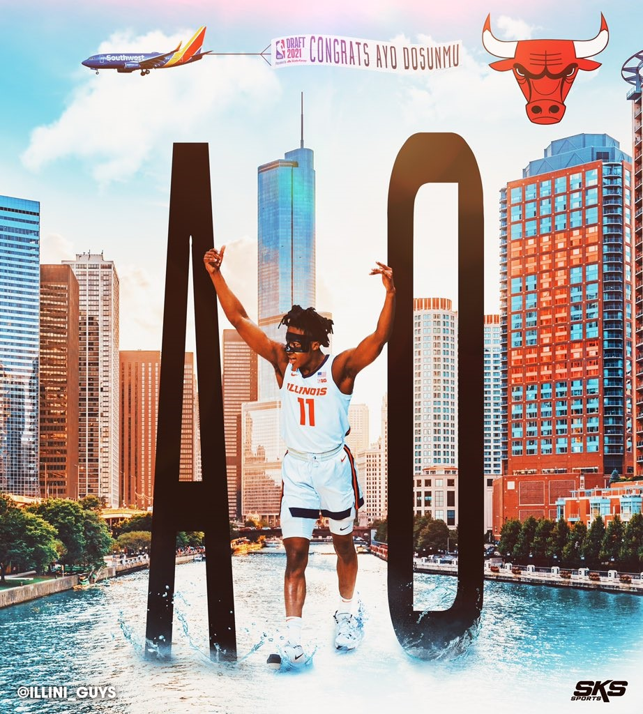 Ayo Drafted By Hometown Chicago Bulls in Second Round of NBA Draft