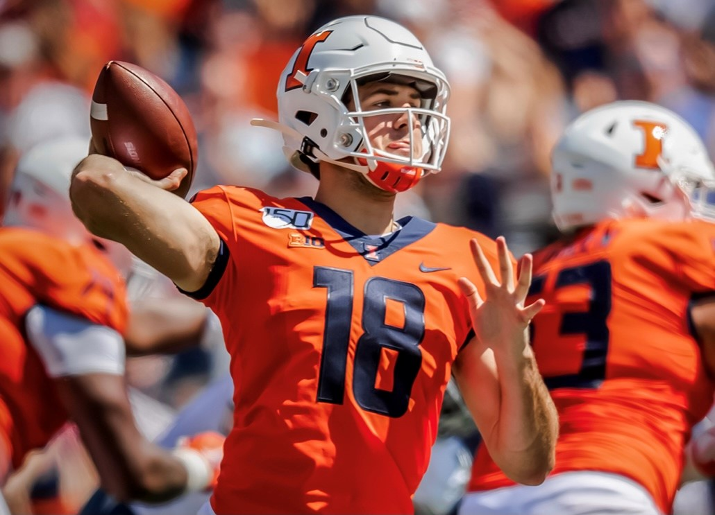'He's got to start walking the walk of a quarterback': Illini QB Brandon Peters Finding Comfort in Being Uncomfortable