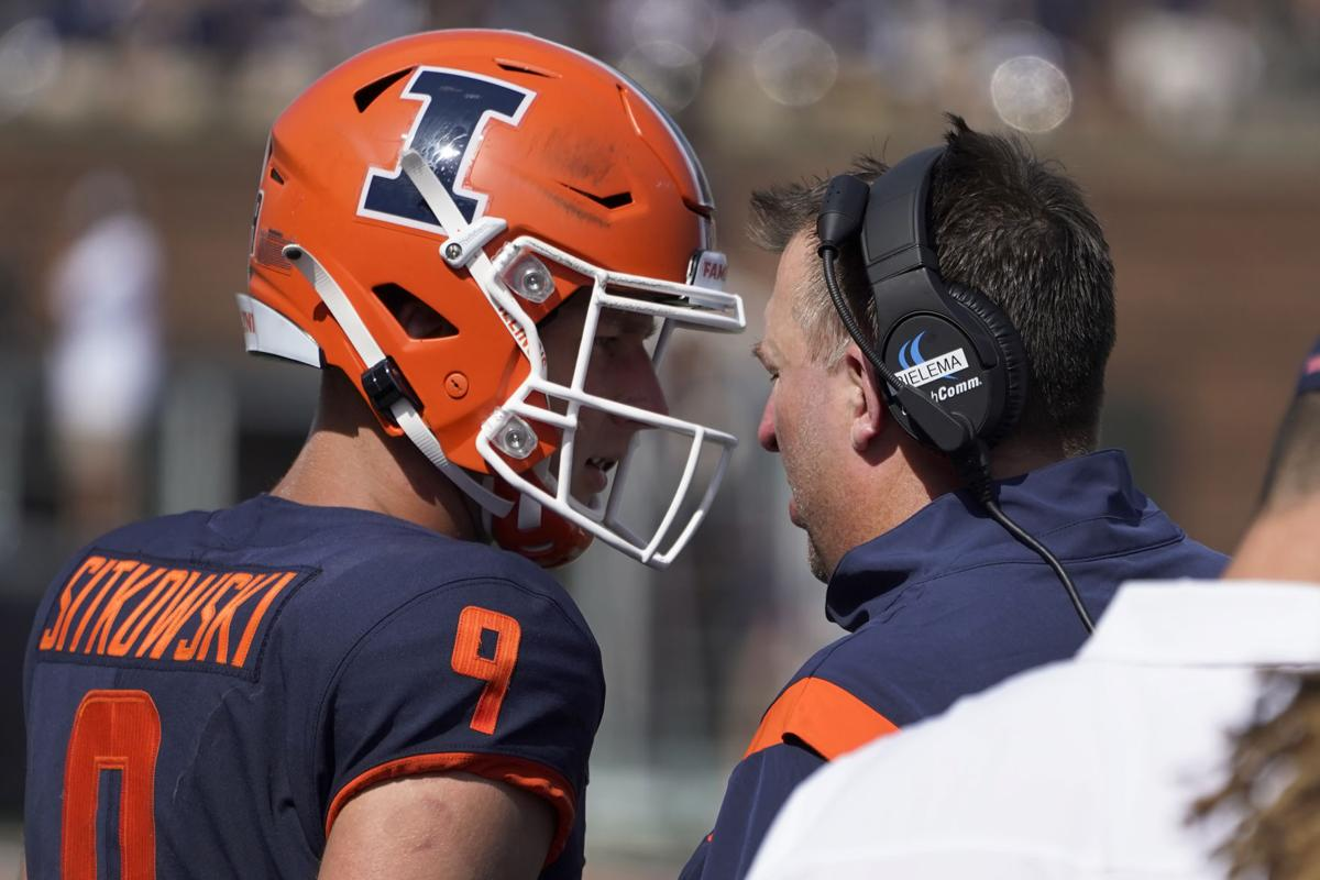 """""""Art was prepared for the moment"""": How Sitkowski Produced Work of Art in an Illini Victory"""