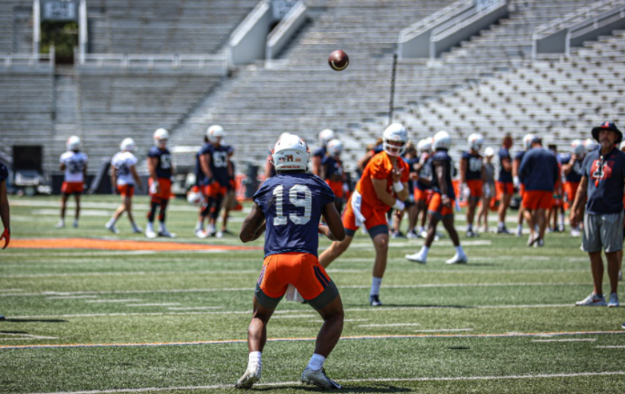 Illini Football Fall Camp Practice Report Wednesday Evening August 4