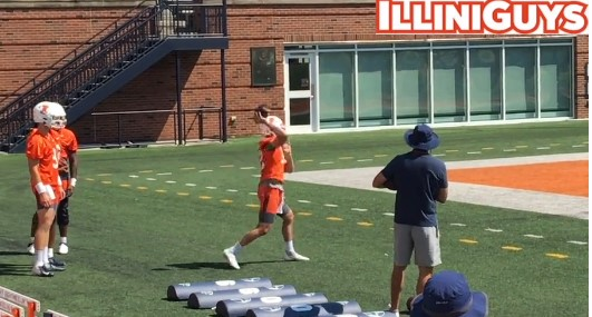 Illini Football Fall Camp Practice Report - Tuesday August 3rd