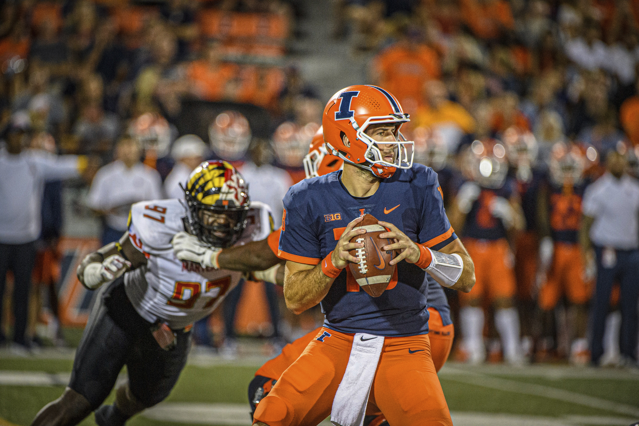 """""""There was a thought"""": Bielema Considered QB Change Before Illini's Final Drive vs. Maryland"""