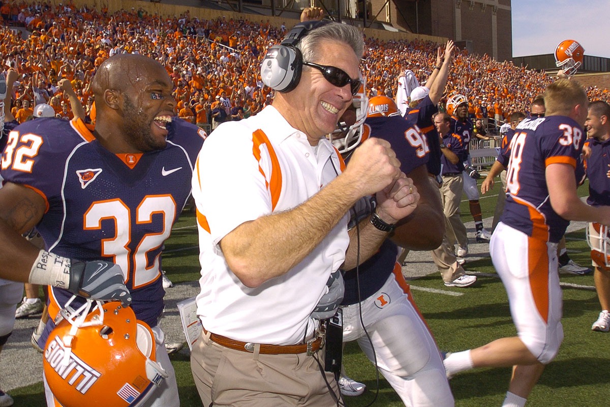 Welcome to Reunion Weekend for Maryland & Illinois Coaching Sidelines