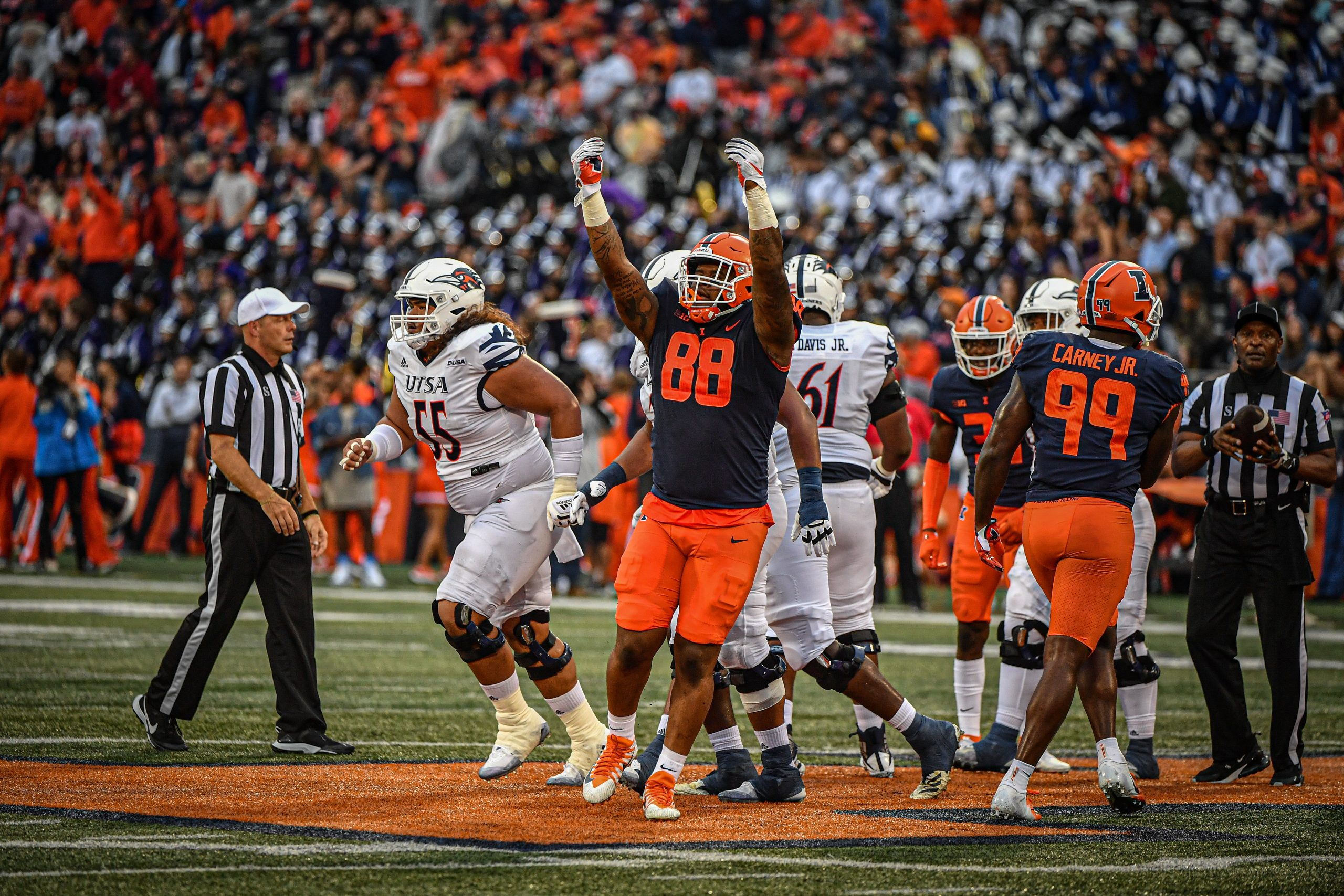 Illini Injury Update: Bielema Confirms DL Keith Randolph's Injury Shouldn't Result in Surgery